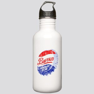 Vintage Buffalo Hockey Stainless Water Bottle 1.0L
