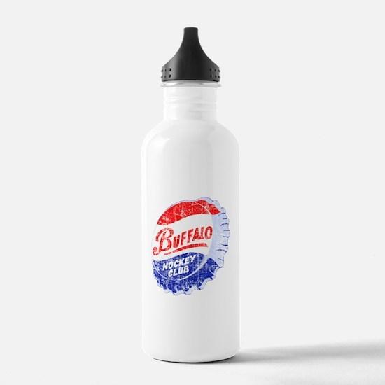Vintage Buffalo Hockey Water Bottle