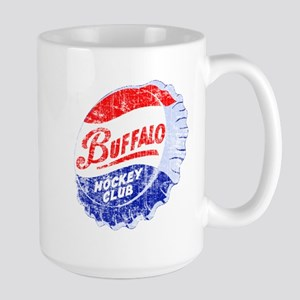 Vintage Buffalo Hockey Large Mug