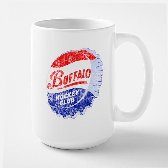 Vintage Buffalo Hockey Large Mug