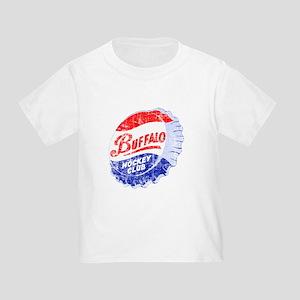Vintage Buffalo Hockey Toddler T-Shirt