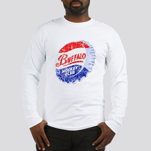 Vintage Buffalo Hockey Long Sleeve T-Shirt
