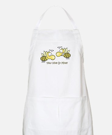 Your Hive Or Mine BBQ Apron