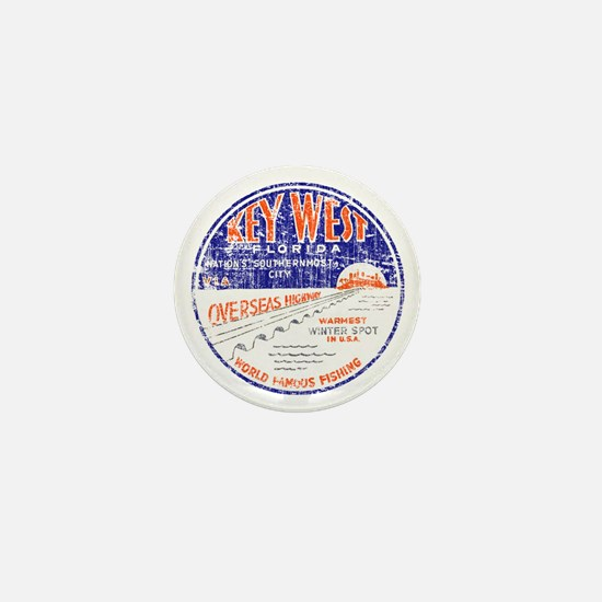 Vintage Key West Mini Button