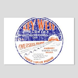 Vintage Key West Postcards (Package of 8)