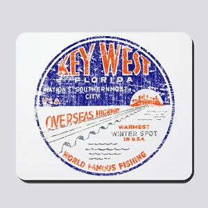 Vintage Key West Mousepad