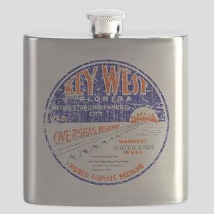 Vintage Key West Flask