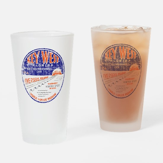 Vintage Key West Drinking Glass