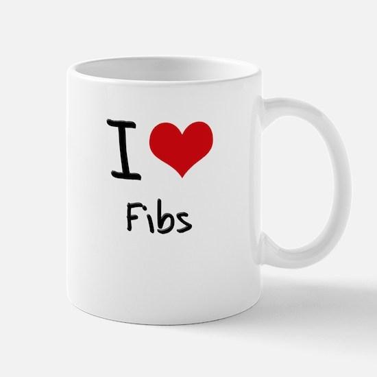 I Love Fibs Mug