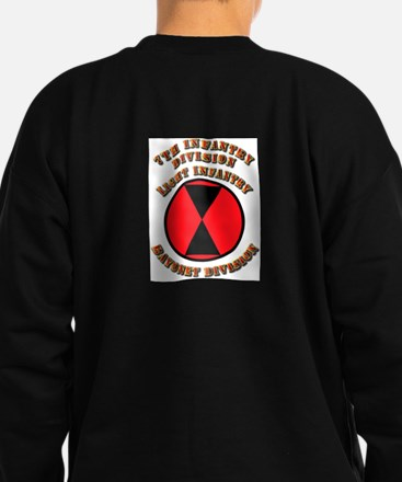 Army - Division - 7th Infantry DUI Sweatshirt