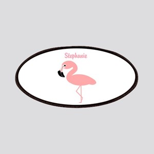 Personalized Flamingo Patches