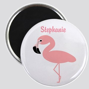 Personalized Flamingo Magnet