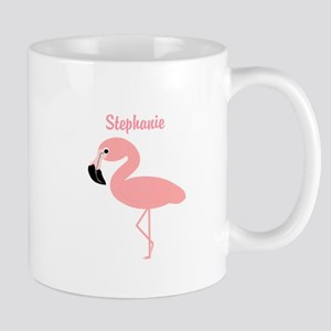 Personalized Flamingo Small Mug