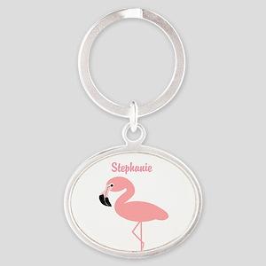 Personalized Flamingo Keychains