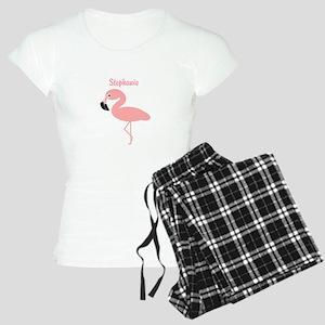 Personalized Flamingo pajamas