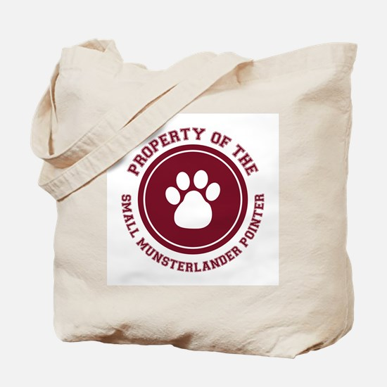 Small Munsterlander Pointer Tote Bag