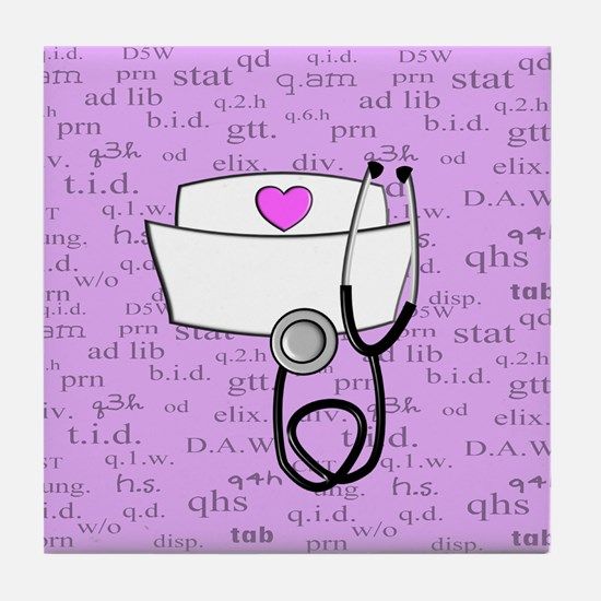 Nurse Tile Coaster