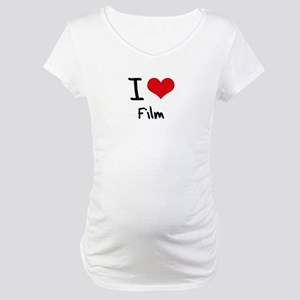 I Love Film Maternity T-Shirt