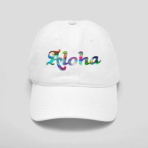 Aloha Rainbow Baseball Cap