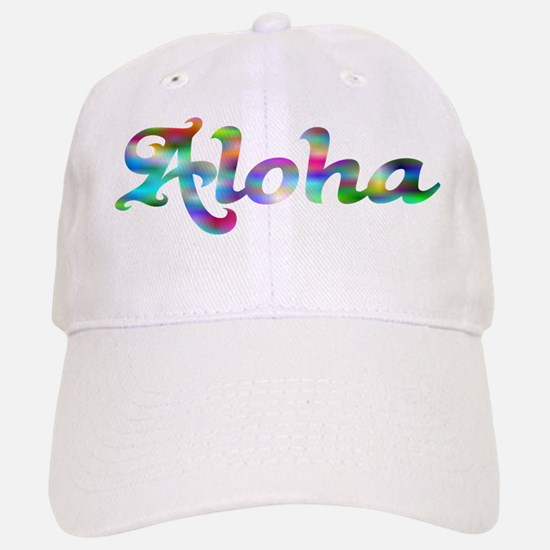 Aloha Rainbow Baseball Baseball Baseball Cap