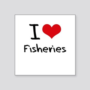 I Love Fisheries Sticker