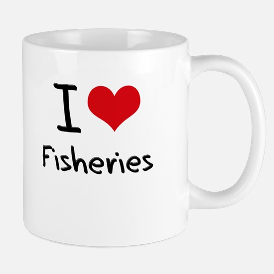 I Love Fisheries Mug