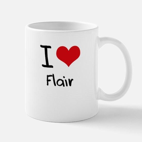 I Love Flair Mug