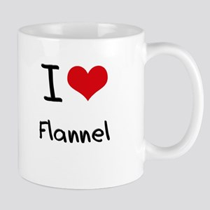 I Love Flannel Mug