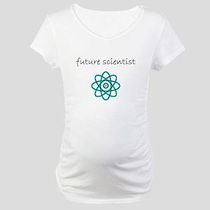 future scientist.bmp Maternity T-Shirt