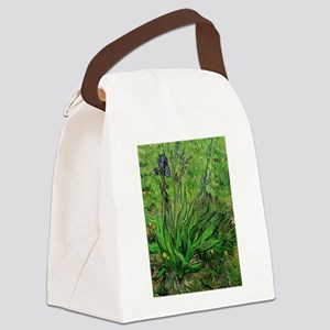 The Iris by Vincent van Gogh Canvas Lunch Bag