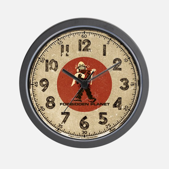 Forbidden Planet - Robby Robot Wall Clock