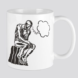 Funny Rodin Thinker Mug