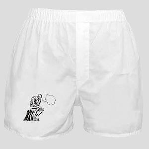 Funny Rodin Thinker Boxer Shorts