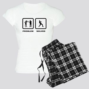 Ukulele Player Women's Light Pajamas