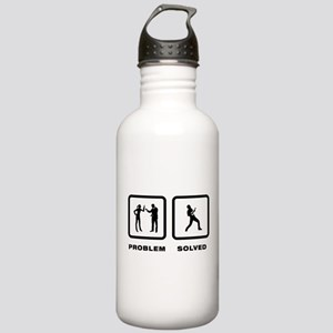 Ukulele Player Stainless Water Bottle 1.0L