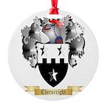 Cheeseright Round Ornament