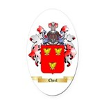 Cheel Oval Car Magnet