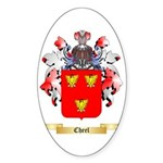 Cheel Sticker (Oval 50 pk)