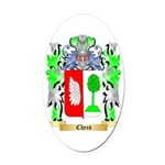 Checo Oval Car Magnet
