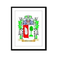 Checcucci Framed Panel Print