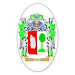 Checchetelli Sticker (Oval 50 pk)