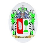 Checchetelli Ornament (Oval)