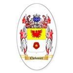 Chebanier Sticker (Oval 50 pk)