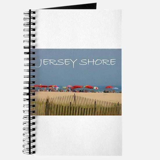 Jersey Shore Beach Umbrellas Journal