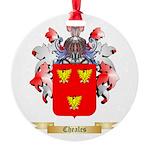 Cheales Round Ornament