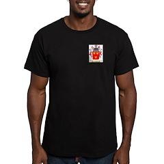 Cheal Men's Fitted T-Shirt (dark)