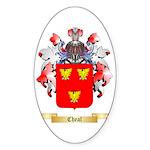 Cheal Sticker (Oval 50 pk)