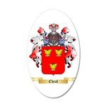 Cheal 20x12 Oval Wall Decal
