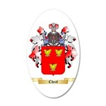Cheal 35x21 Oval Wall Decal
