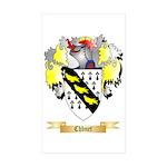 Chbnet Sticker (Rectangle 10 pk)